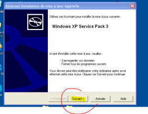 xp service pack 3 assistant