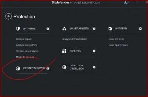 PROTECTION WEB