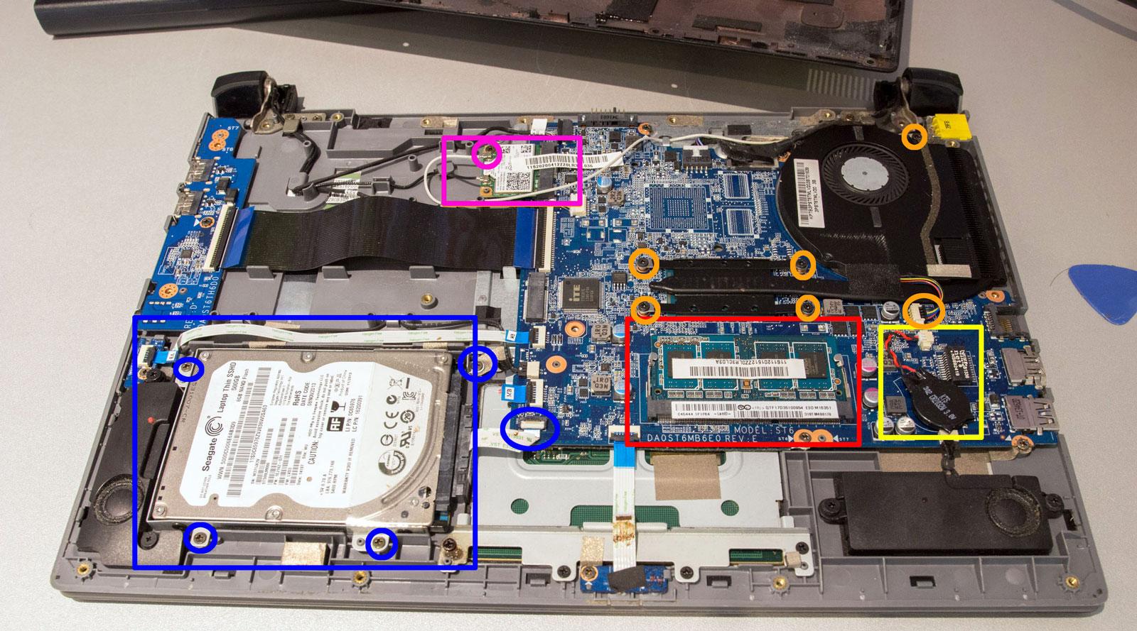 d montage lenovo ideapad flex 14 changer clavier disque dur ram pc okay versailles 78. Black Bedroom Furniture Sets. Home Design Ideas